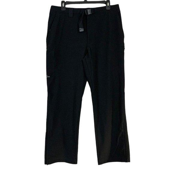 Eddie Bauer Sport Hiking Cargo Pants Ankle Zip M
